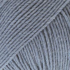 Cotton Merino Jeansblå