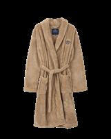 Lexington Lesley Polyester Fleece Robe, Beige