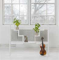 Sundborn Blomsterhylla vit
