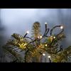Ljusslinga serie micro LED svart sladd 18m Star Tr