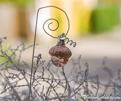 Lanterna m krok Ekollon krack glaskula Orange