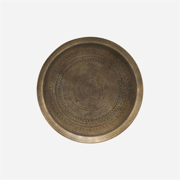 House Doctor Tray, Jhansi, Antique brass finish