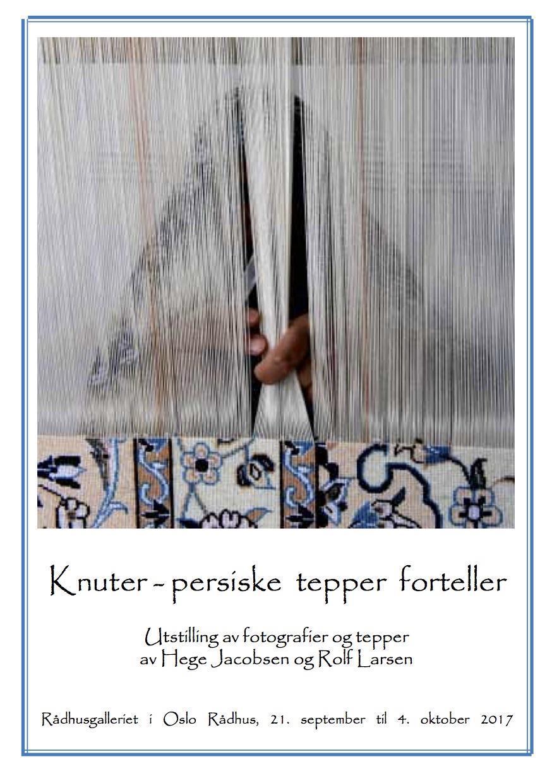 Hefte Knuter - persiske tepper forteller