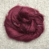 Silk Mohair Plommon