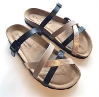 Re:Designed Eshita Sandals, Bronze