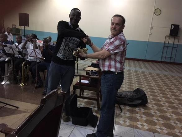 A Bb Cornet for Nairobi Central Band