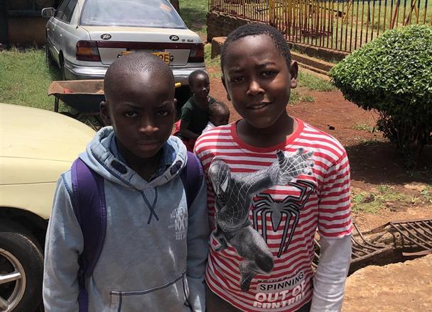 Godwill Shitala & Arnold Sumba