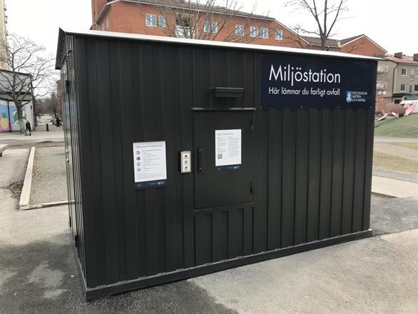 Automatisk Miljöstation för farligt avfall