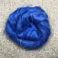 Silk Mohair Elektrisk blå