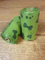 Green bone Eco bajspåsar doft