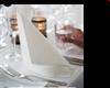 Lautasliina Dunilin Brilliance White 40x40cm