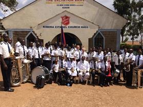 Kibera Citadel Band with guests