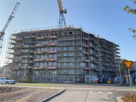 Pågående projekt Selma Lagerlöfs torg etapp 2