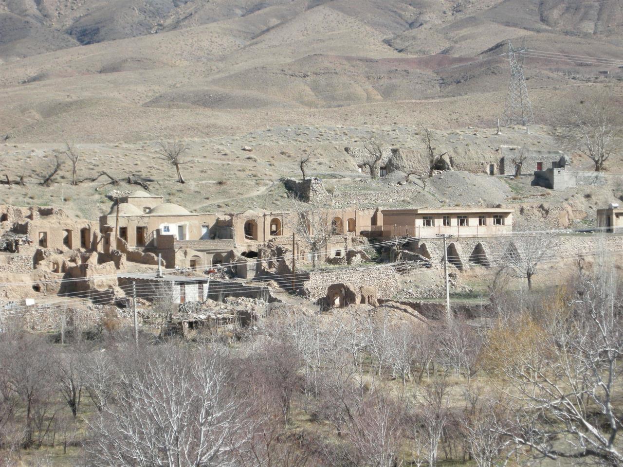 Landsby i Kerman-provinsen