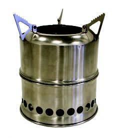 Eldstad Wood stove stack
