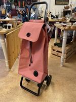 Shoppingvagn Rolser 2+2 Tweed rosa