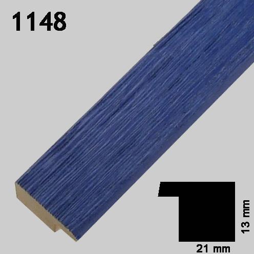 Ramme blå 1148 Greens rammefabrikk