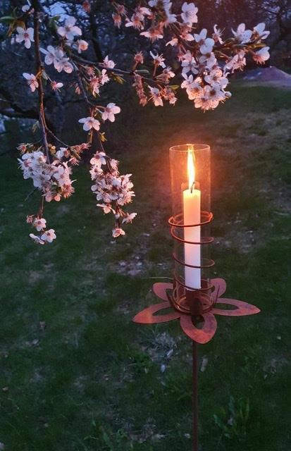Ljusstake Lotus