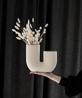Storefactory Stråvalla, Beige Ceramic Vase