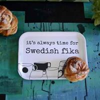 Bricka Erika Tubbin Swedish fika liten