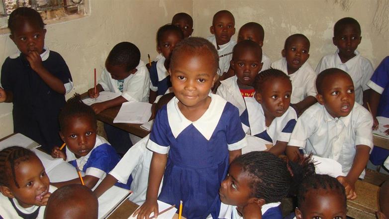 Pratley Mideva in her school