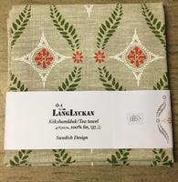 Linnehandduk Sjärnlöv jul, Långlyckan