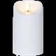 Batteriljus Flamme 13cm vit Star Trading