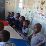 Kibera Nursary School - class 2