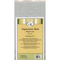 CK Filigree Lace mat 4 stk