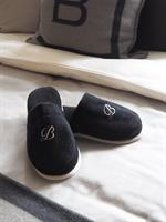 Balmuir Portofino Slippers, Black