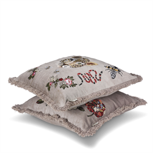 Classic Collection Anguis Cushion Cover, Simply Taupe