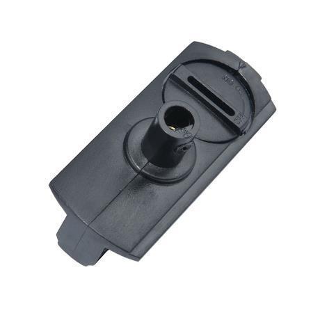 1-fas skena pendant adaptor svart Halo