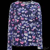 Sweatshirt Louna Lingon, blå st.L Paapii