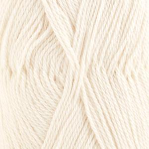 Baby Alpaca Silk Naturhvit