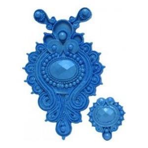FI Silikonform Jeweled Medallion (MD118)