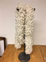 Pälsboa lång Inolea nr.3 vit ca.180 cm
