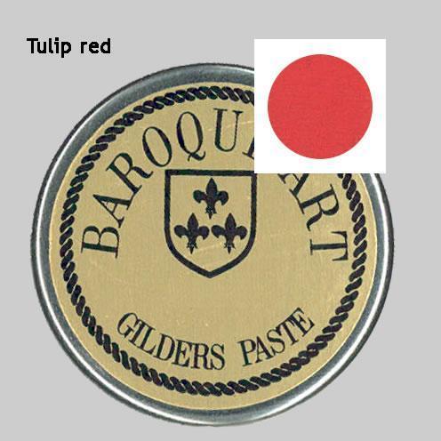 Gilders paste tulip red