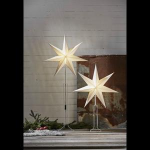 Julstjärna på fot Huss Vit Star Trading