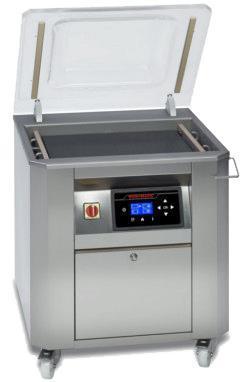 Stor vakuumförpackningsmaskin i golvutförande
