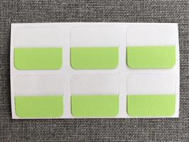 Index-etiketter 6pk Grønn