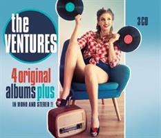 VENTURES: 4 ORIGINAL ALBUMS IN MONO AND STEREO 3CD
