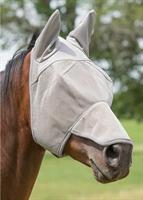 NOSE & EAR COVERED FLY MASK,SM