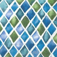 Blå/grønn ruter