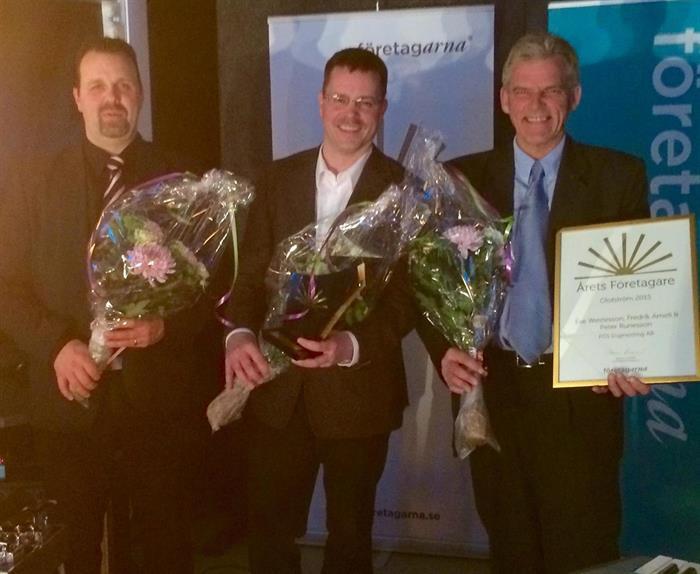 PDS Engineering blev Årets Företagare i Olofström!