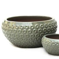 Bowl caramics, Green, L