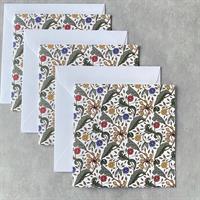 Kort Tulipa Hvit - 4pk