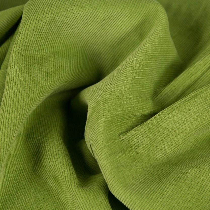 Fine Corduroy  Plain, green