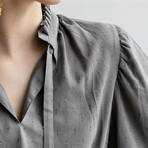 Onion: Skjortekjoler med volangkrage 2090