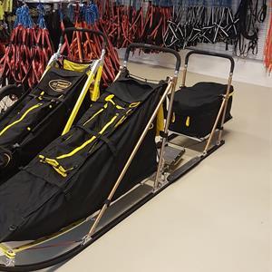 OT Pasvik 9 fot ski m/ sete