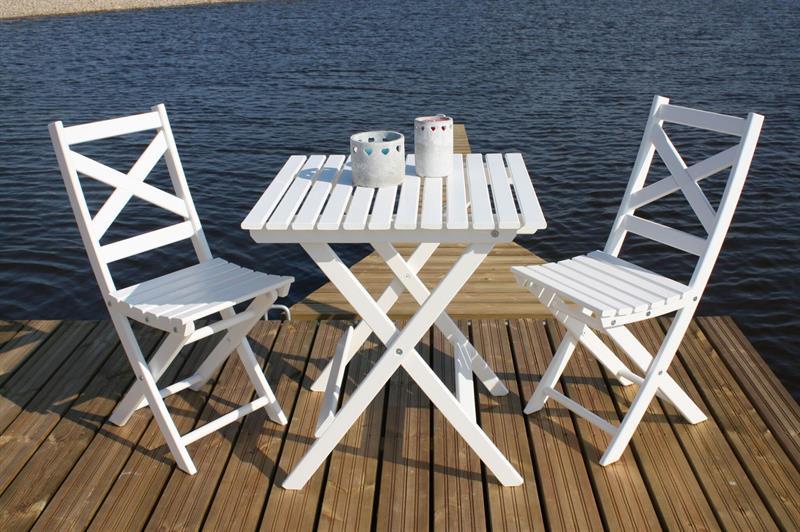 Seabring Cafeset 2 stolar/bord